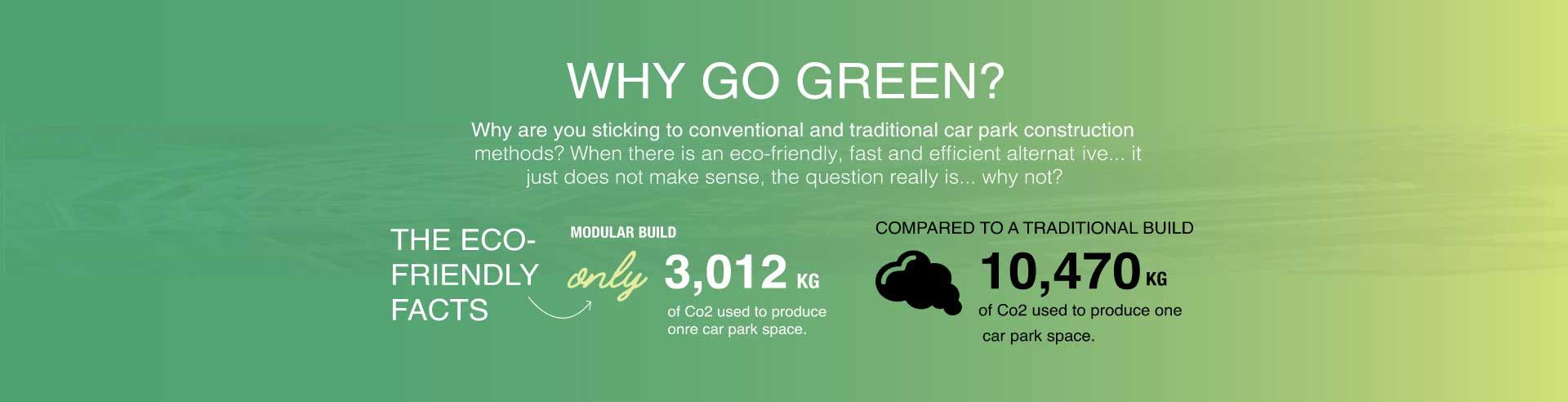 green environement parking construction