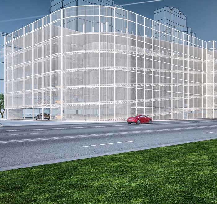 multi storey car park construction