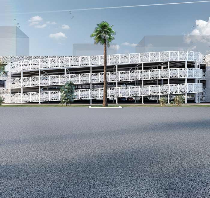 Modular Car Park Construction