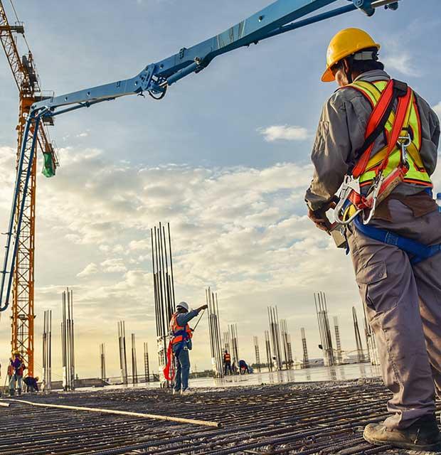 building contractors car park construction